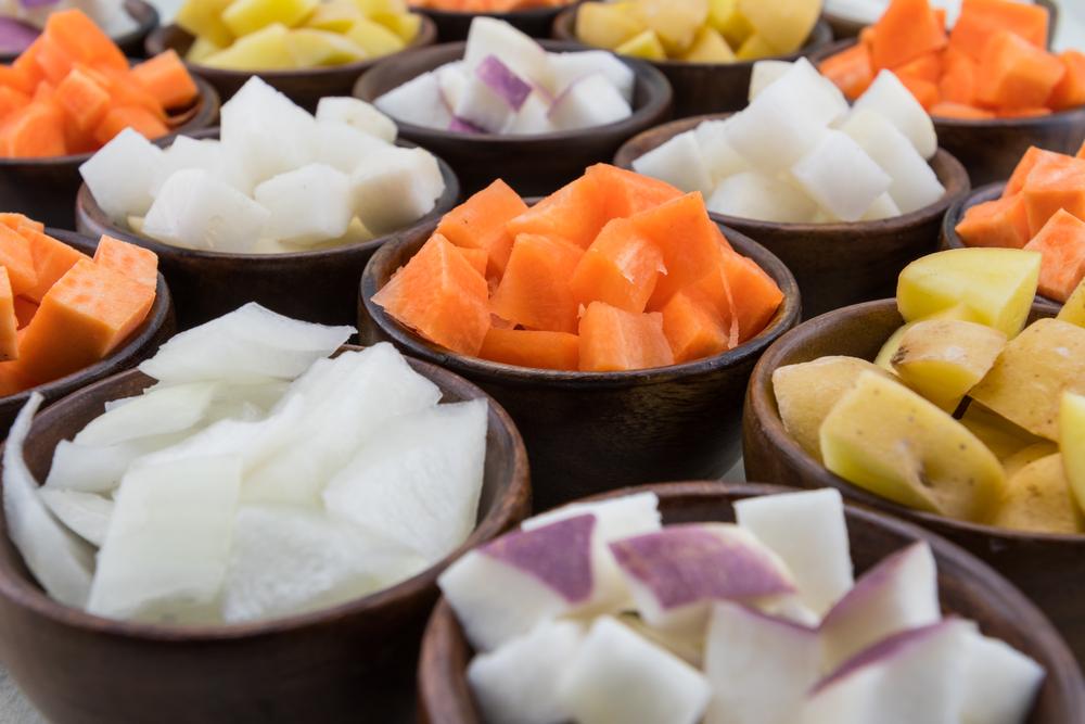 Tagli delle verdure: a Matignon
