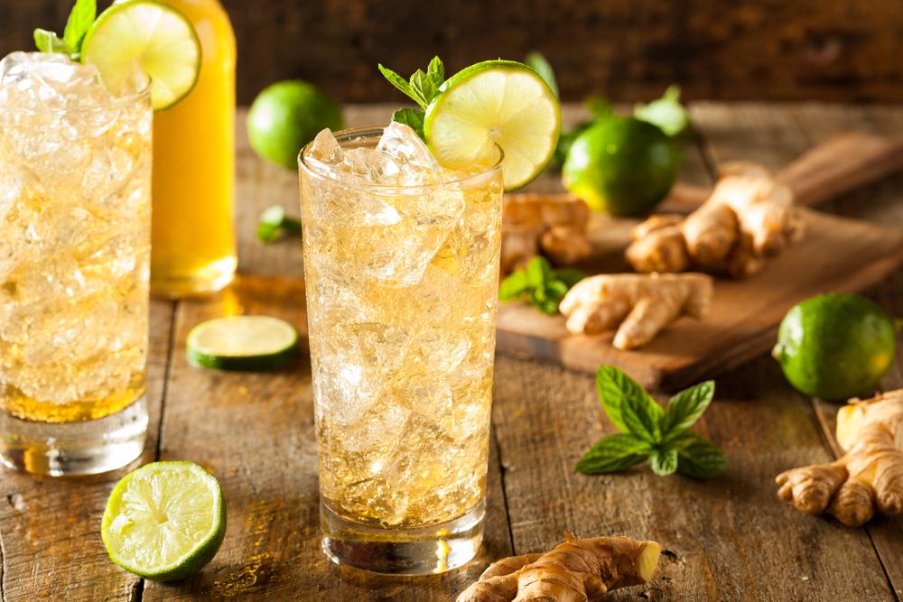 zenzero, ginger ale