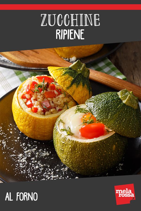 Zucchine ripiene al forno ricetta