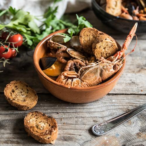 zuppa di pesce, ricetta light