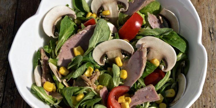insalata di tonno funghi e champignon
