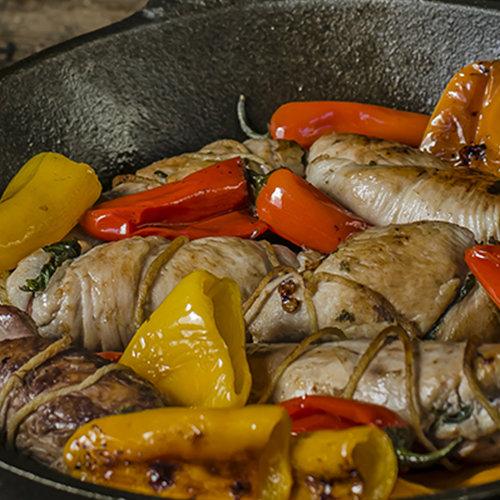 involtini pollo pancetta scarola