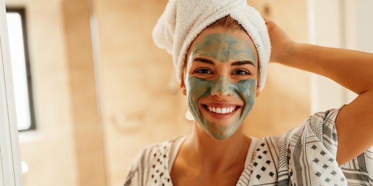 Maschera all'argilla verde