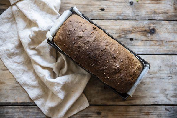 pane di segale nove