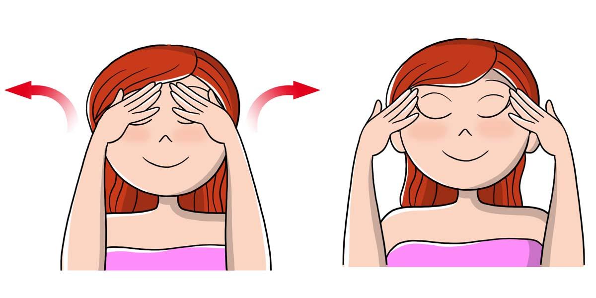 scrub viso: massaggio idrantante