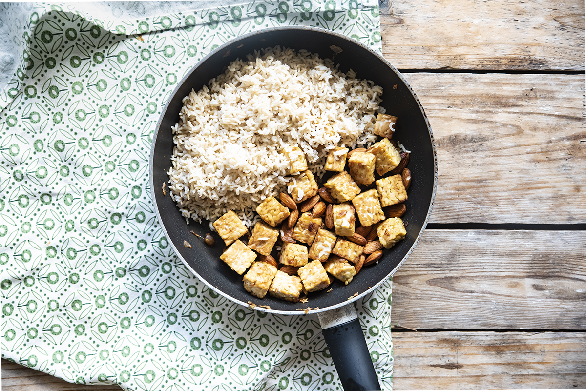 tempeh mandorle seconda