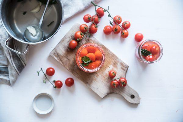 Pomodori in salamoia vasetti