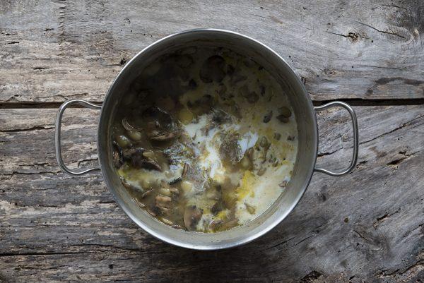 Ricetta vellutata funghi cottura patate e funghi