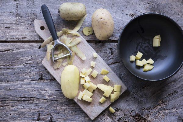 Ricetta vellutata funghi patate
