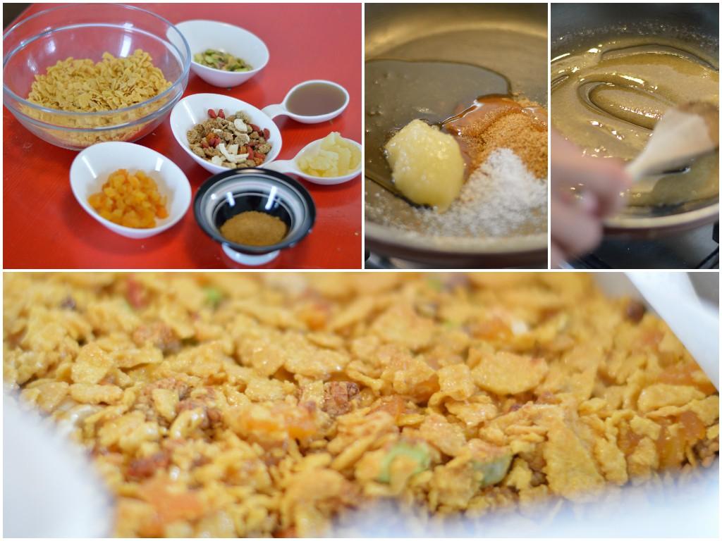 barrette-cornflakes-frutta-secca-preparazione