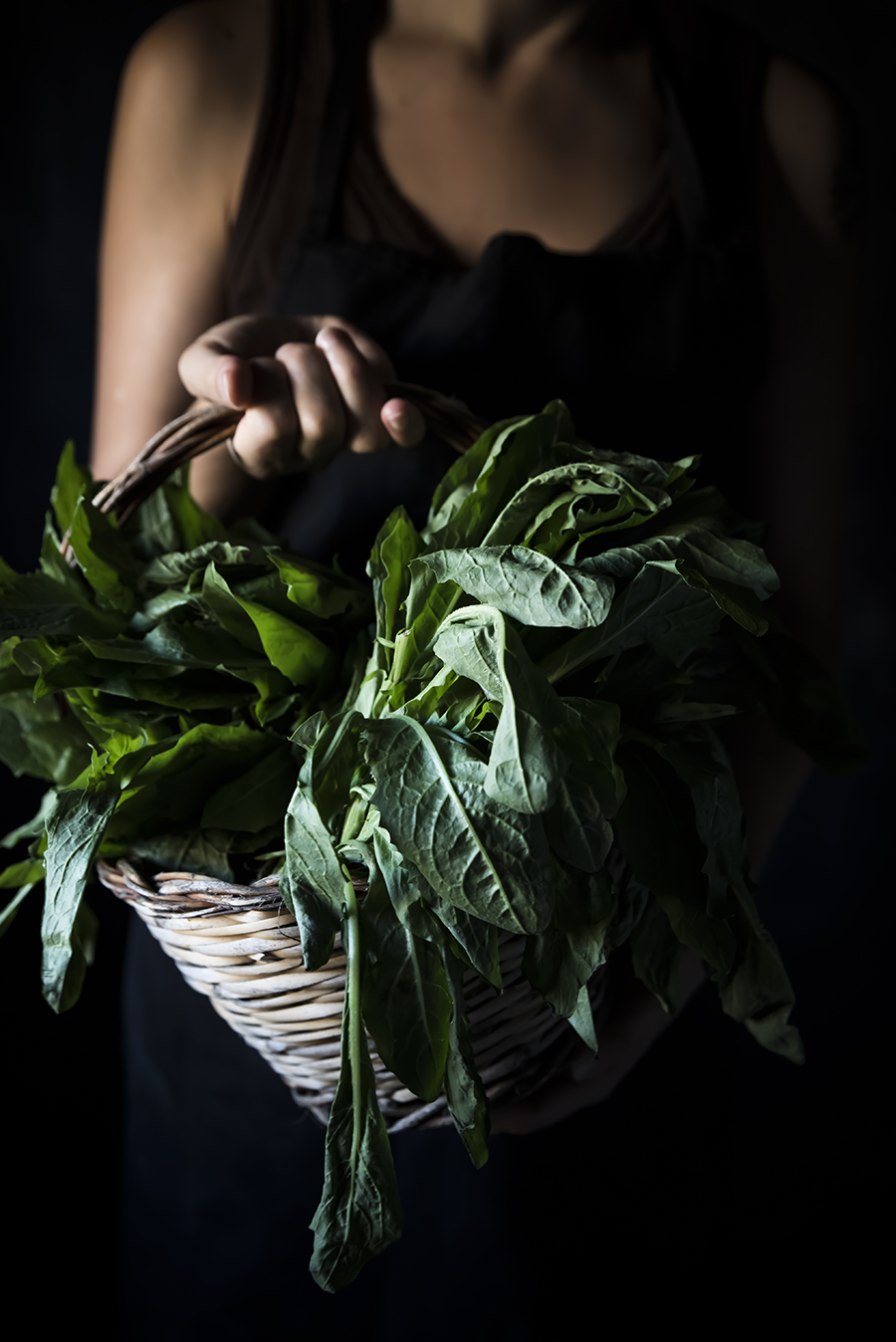 crostata zucca lavare foglie