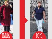 Giulia prima dopo dieta Melarossa