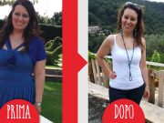 Ilenia prima e dopo dieta Melarossa