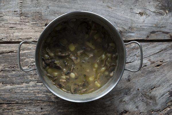 ingredienti vellutata di funghi e patate