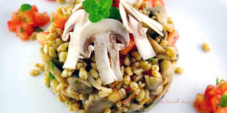insalata kamut champignon
