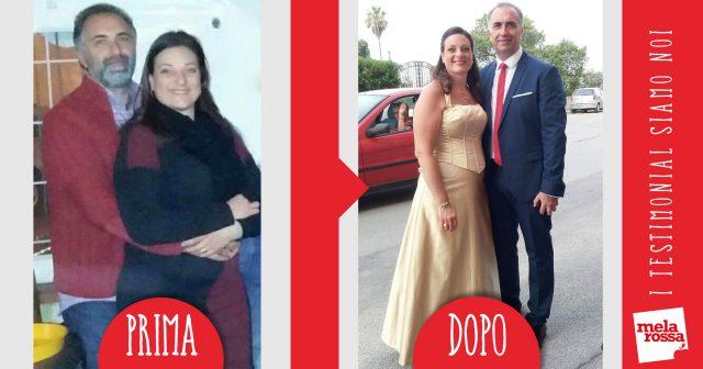Maria e Giuseppe dopo dieta Melarossa