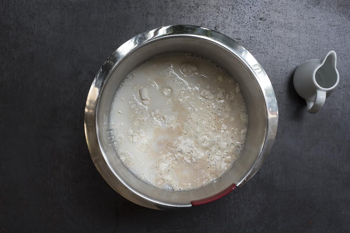 pagnottelle mescola farina lievito latte planetaria