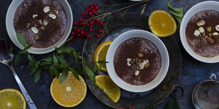 mousse light al cioccolato immagine evidenza articolo