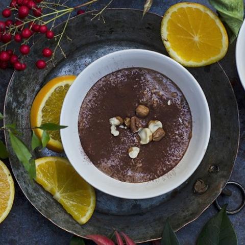 mousse light al cioccolato immagine evidenza ricetta
