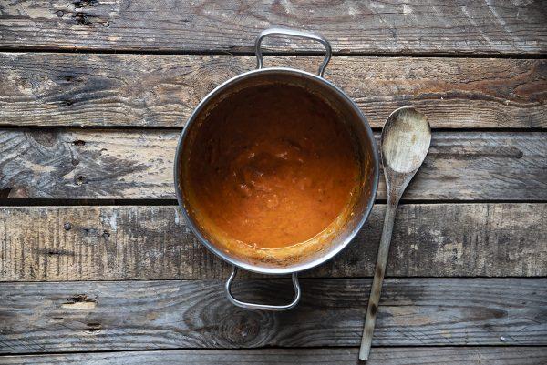 pasta fredda crema di pomodori quattro