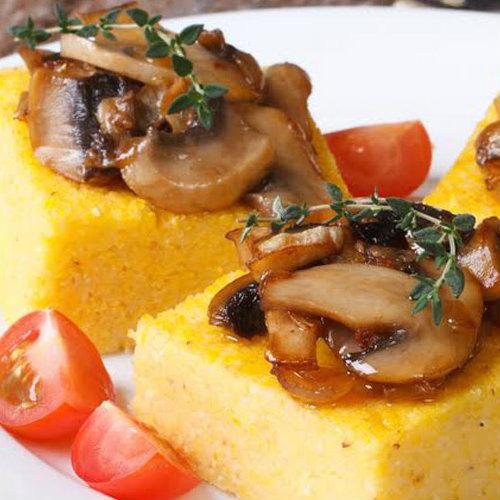 ricetta crostini di polenta