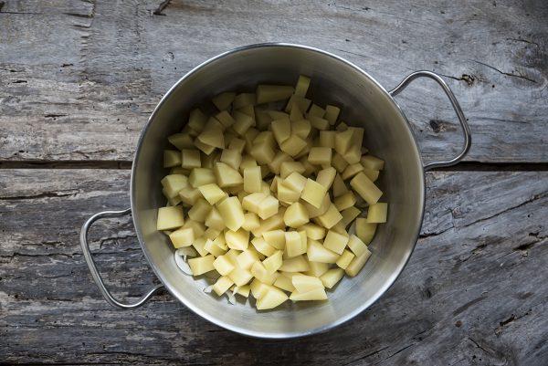 ricetta vellutata funghi patate pentola