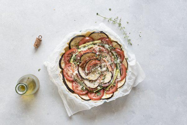 tarta salata final step