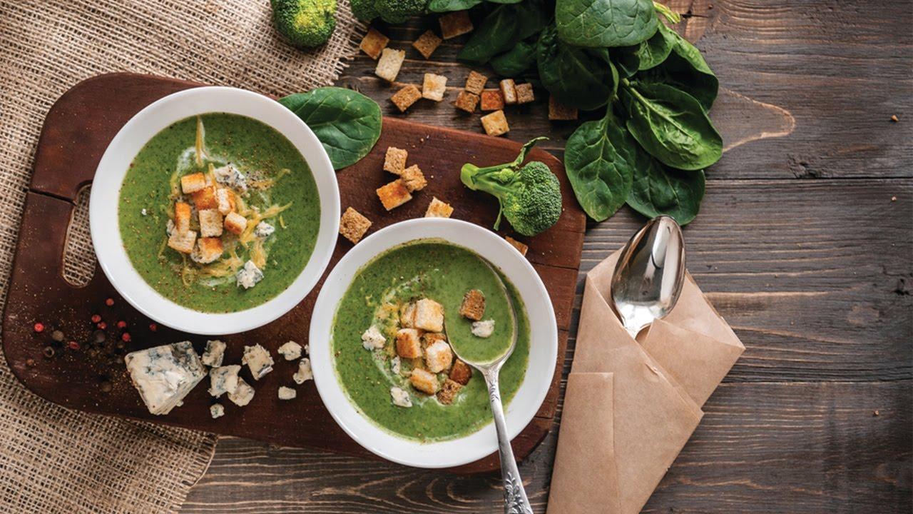 Vellutata di spinaci, un vero comfort food