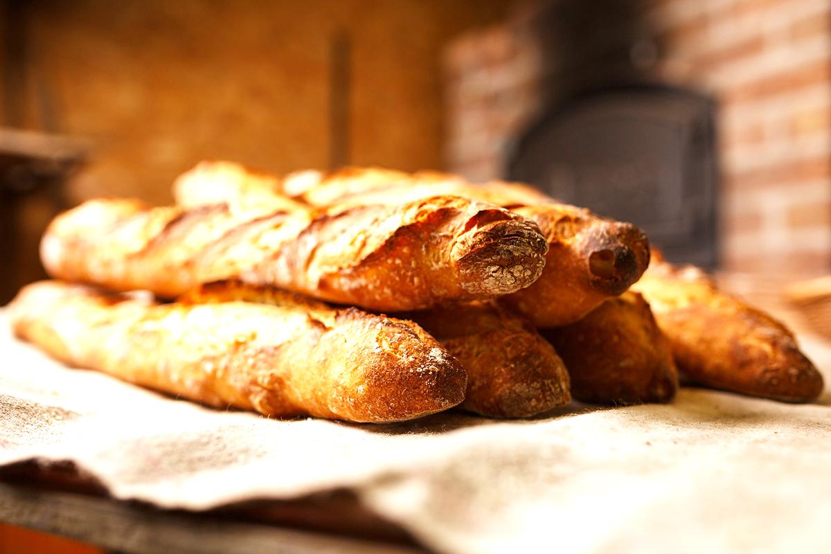 baguette con poolish