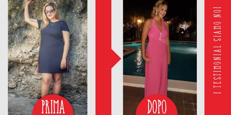 Chiara, 21 chili persi con la dieta melarossa