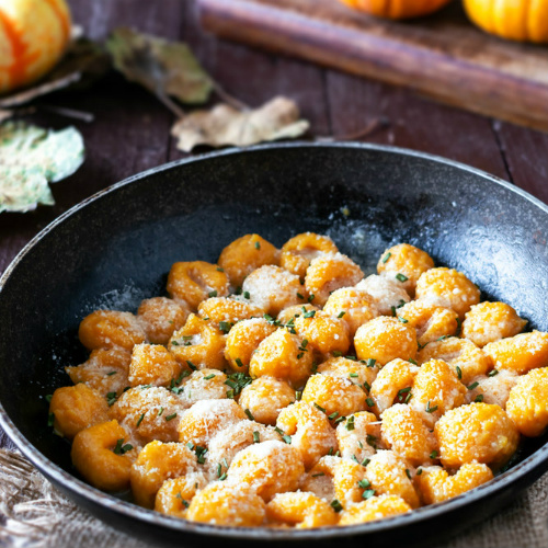 gnocchi con zucchine e carote