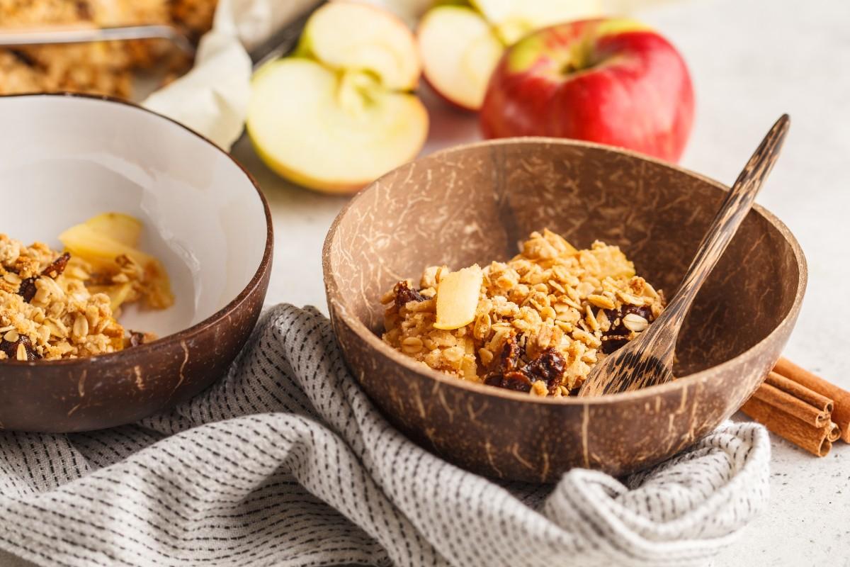 Ricette con le mele: crumble