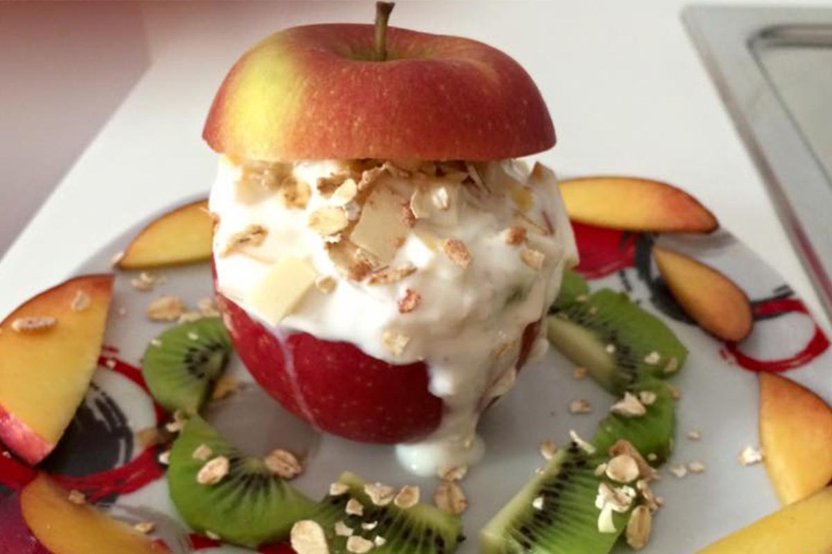 Ricette con le mele: mela allo yogurt