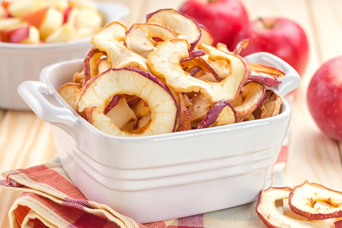 Ricette con le mele: mele essiccate