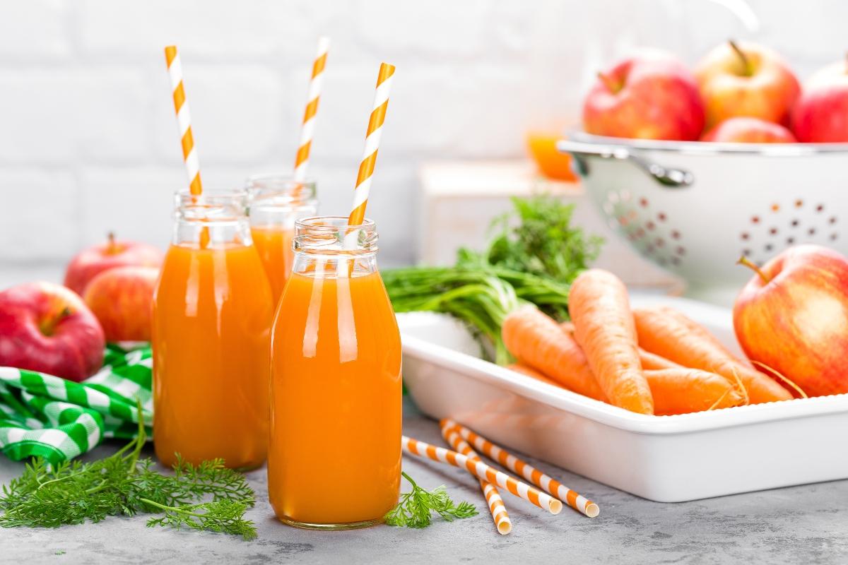 Ricette con le mele: smoothie di carote e mela