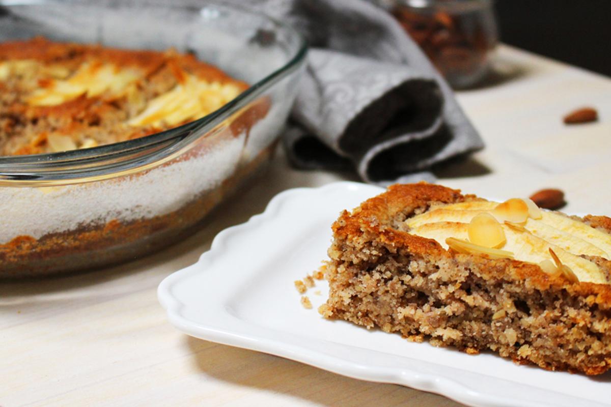 Ricette con le mele: torta di mele e grano saraceno