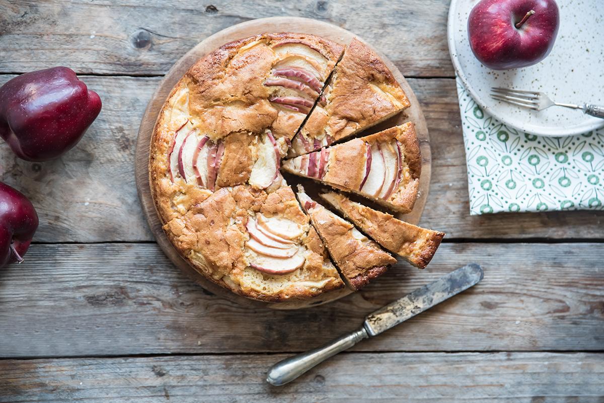 Ricette con le mele: torta di mele senza burro