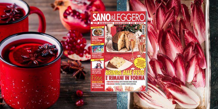 Sano & Leggero dicembre 2018 in edicola