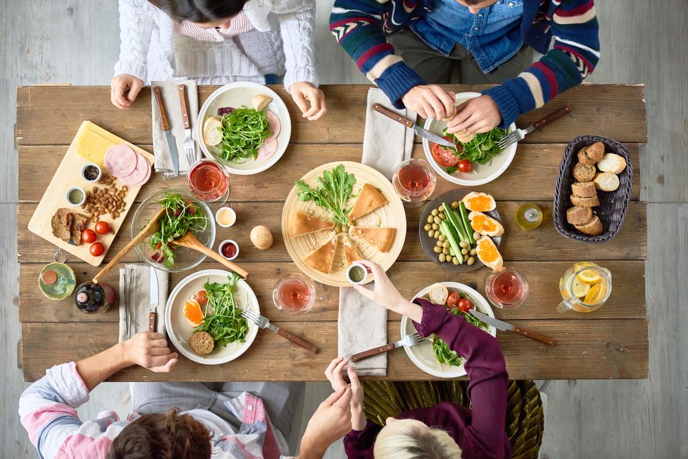cena fuori non sgarrare porzioni