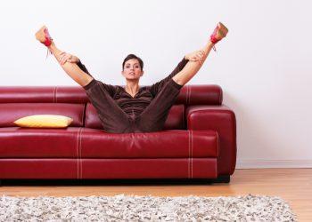 come rimanere in forma a Natale con la ginnasta da divano