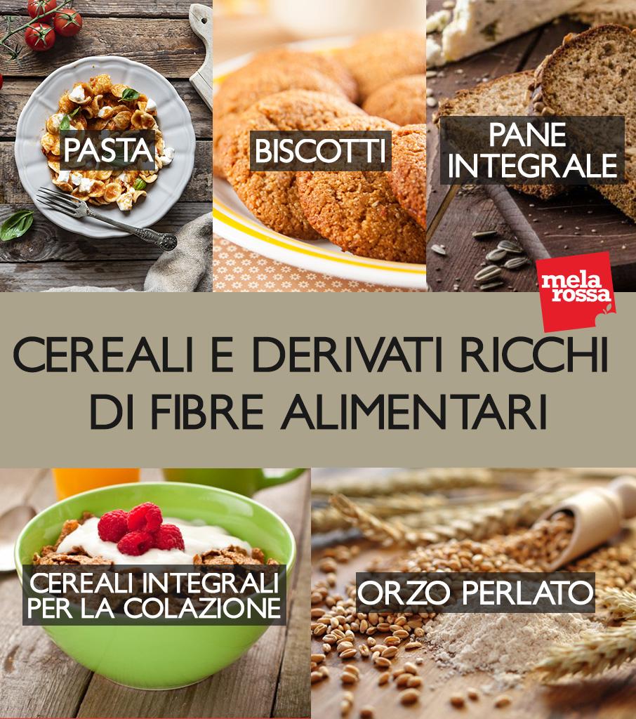 fibre alimentari: i cereali più ricchi