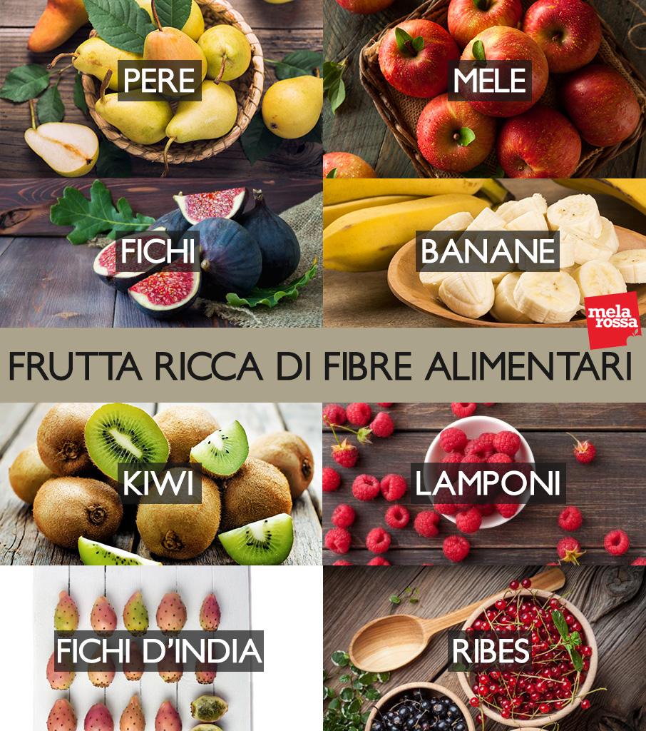 fibre alimentari: la frutta più ricca
