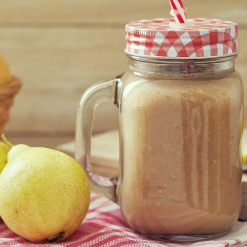 ricetta smoothie di pere e radicchio