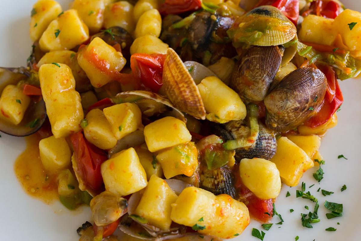 ricette di pesce gnocchi ai frutti di mare