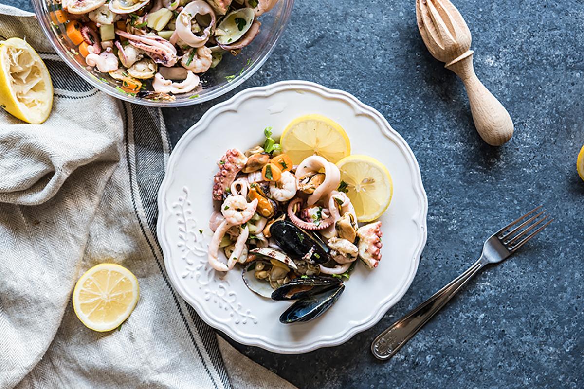 ricette di pesce insalata di mare