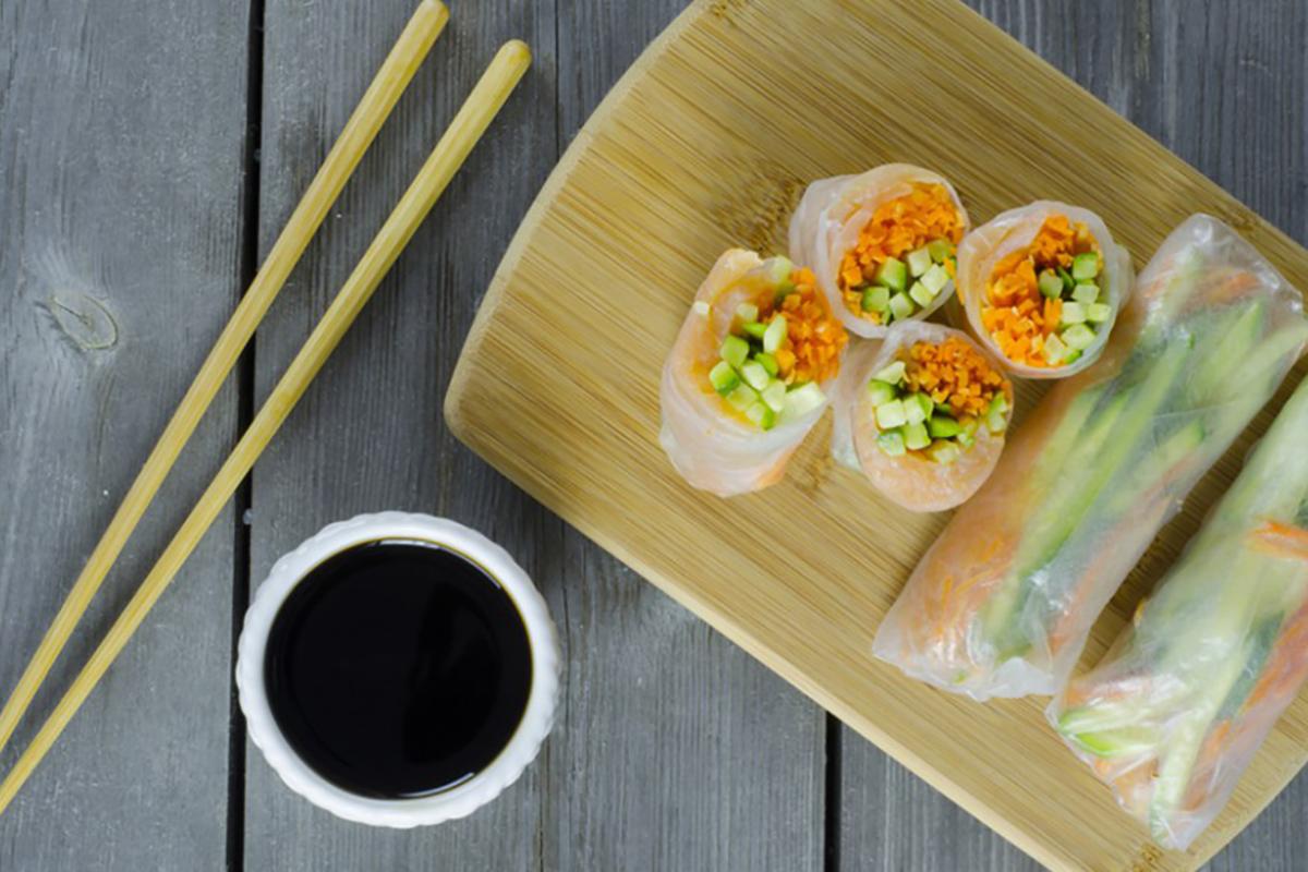 ricette di pesce involtini granchio verdura