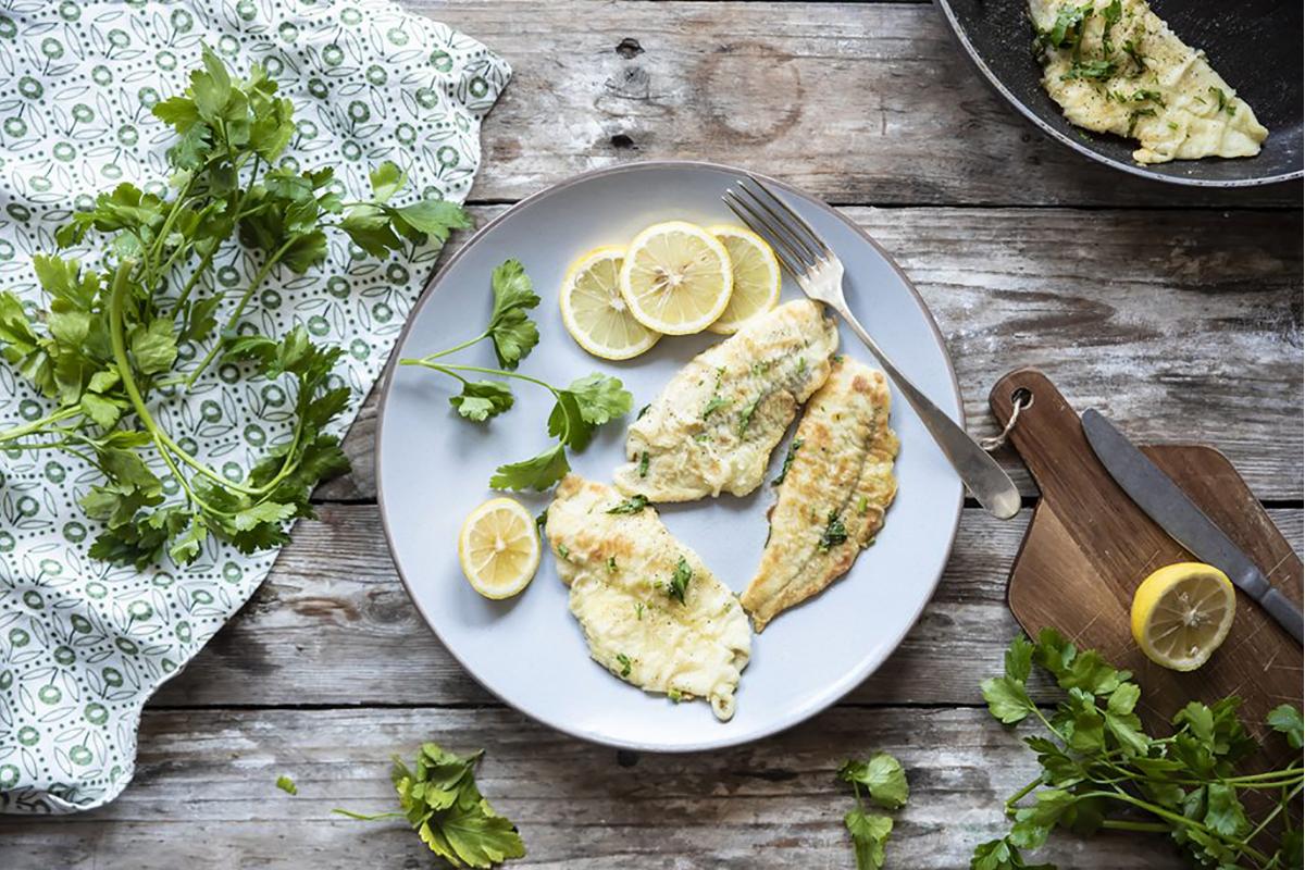 ricette di pesce platessa alla mugnaia