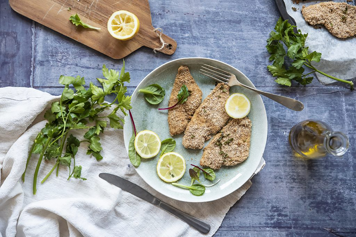 ricette di pesce platessa impanata