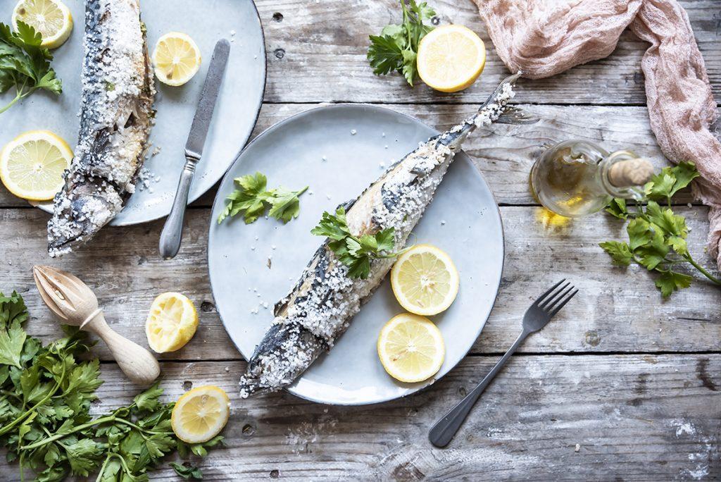 ricette di pesce sgombro sotto sale