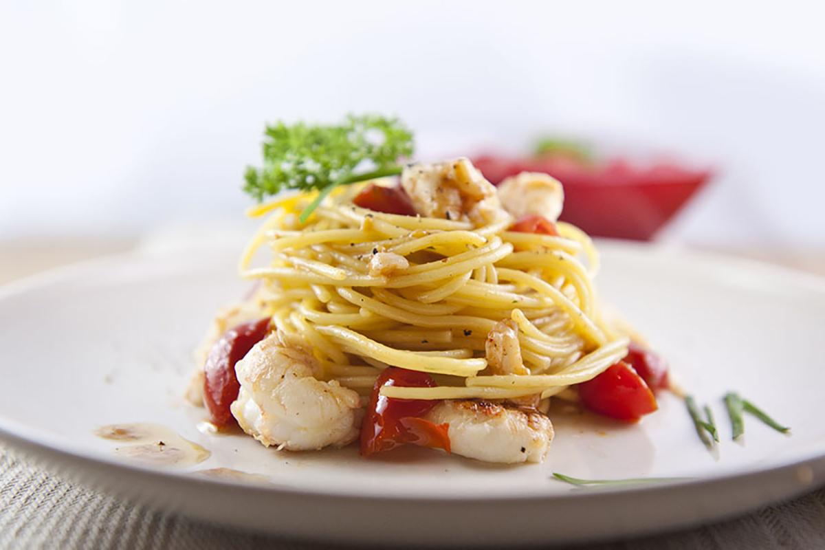ricette di pesce spaghetti agli scampi